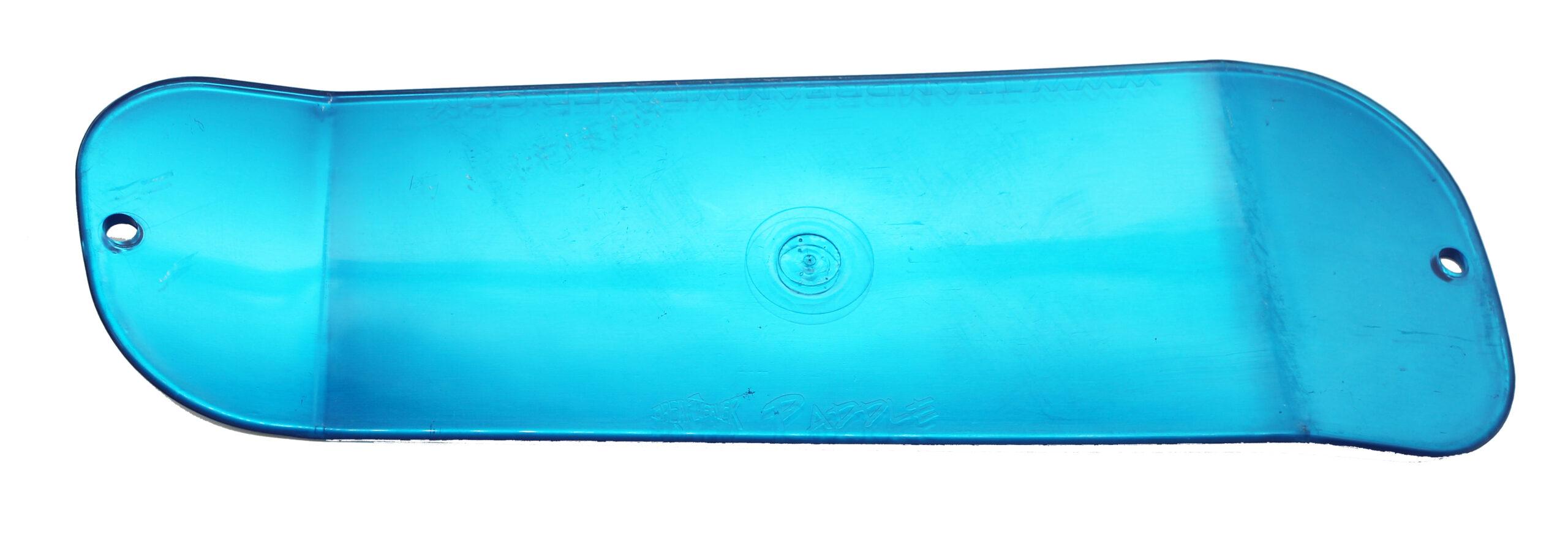 Paddle 11 – Blue/Chrome