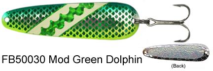 FB50030 Fuzzy Bear Mod Green Dol