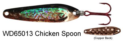 WD65013 Chicken Spoon