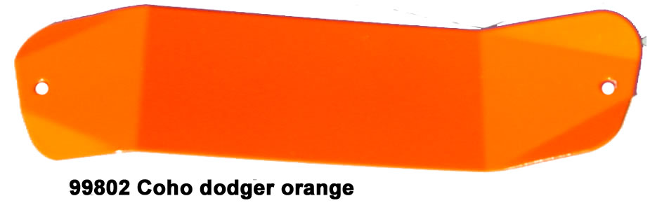 Z99802 Orange Coho Z Dodger
