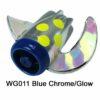 WG011 WhirlyGig Blue Chrome/Glow