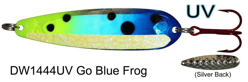 DW1444 UV Go Blue Frog