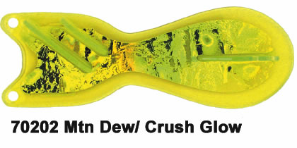 Spindoctor 8 Inch Yellow-Mnt Dew