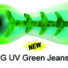 SD70530-8 Spindoctor 8 Inch S.G. UV Green Jeans