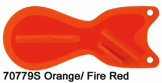 SD70779-6 Orange-Fire6 inch Spin