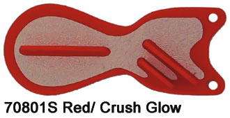 SD70801-6 Red - Crush Pearl Glow6 inch Spindoctor