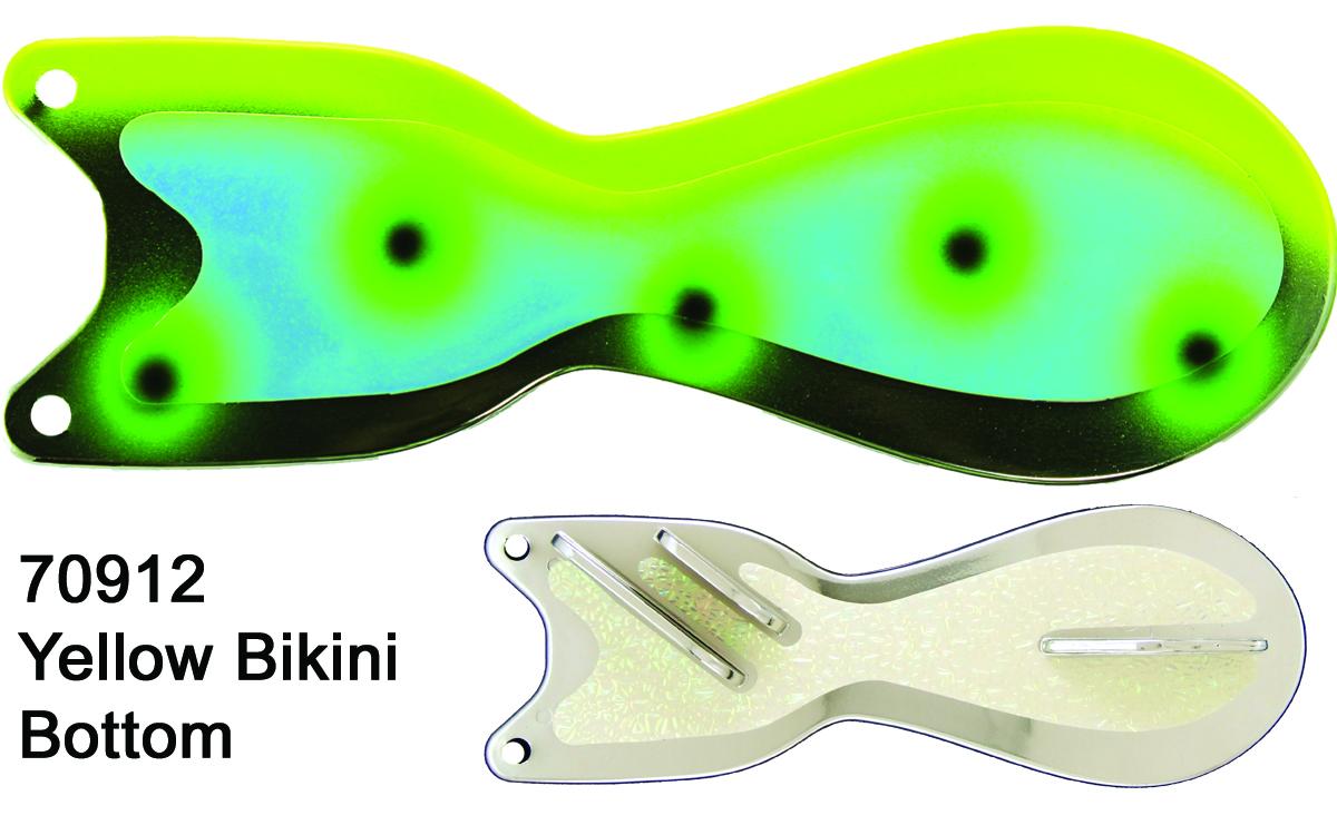 Spindoctor 8 Inch Yellow Bikini