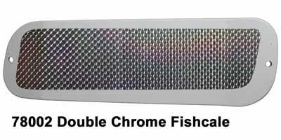 DC Paddle 11- Wht-Slvr FishScale