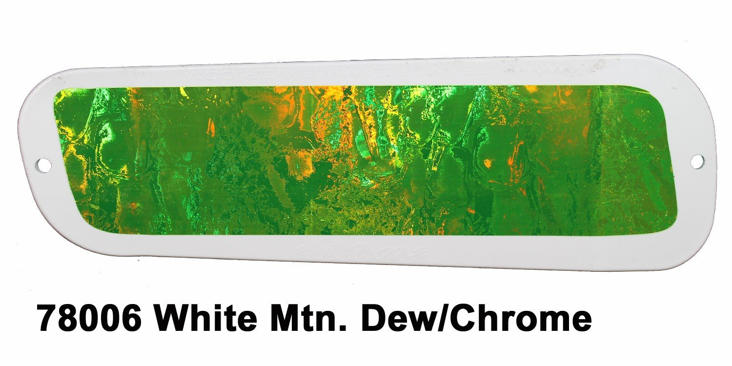 78006L-11 DC Paddle 11 - White-Mountain Dew/Mirror