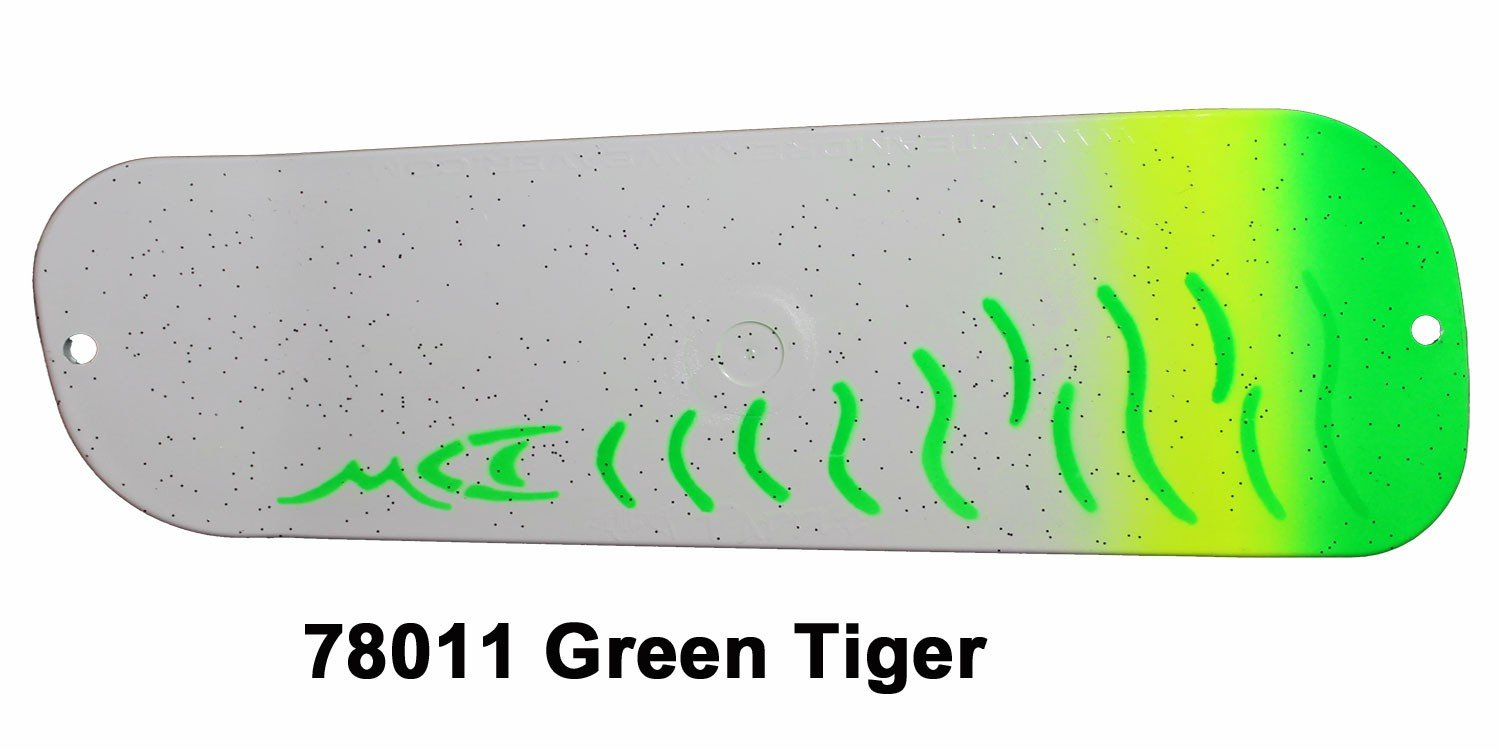 78011L-11 DC Paddle 11 - Green Tiger