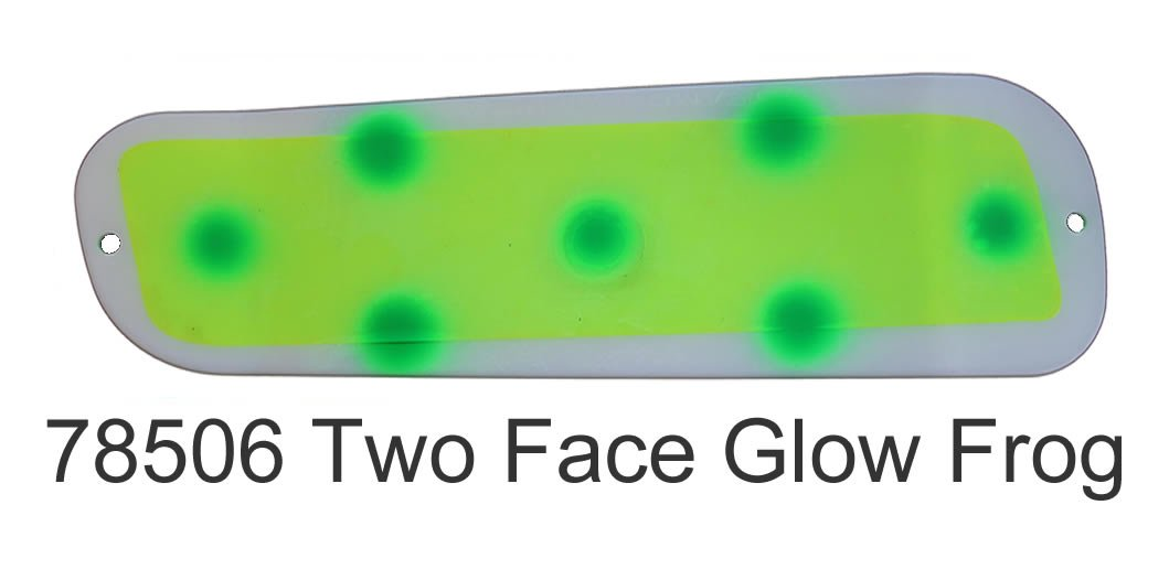 DC19 Paddle 8-Two Face Glow Frog
