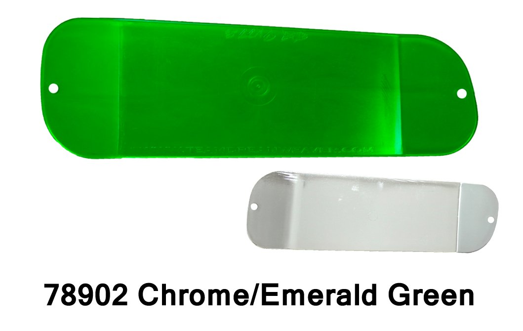 DC19 Paddle 11-Chrome/EmeraldGrn