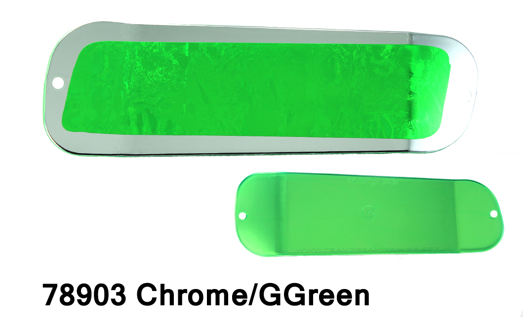 DC19 Paddle 11 – Chrome/G Green
