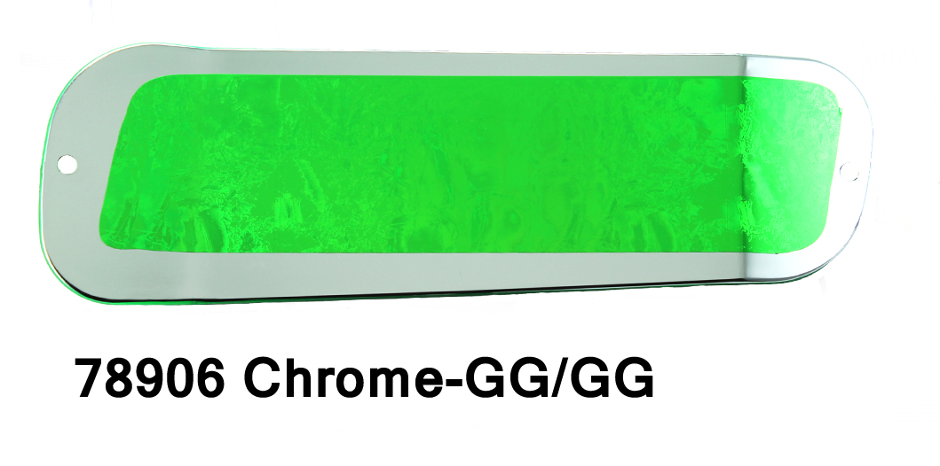 DC19 Paddle 11 -Chrome-Green/Gre