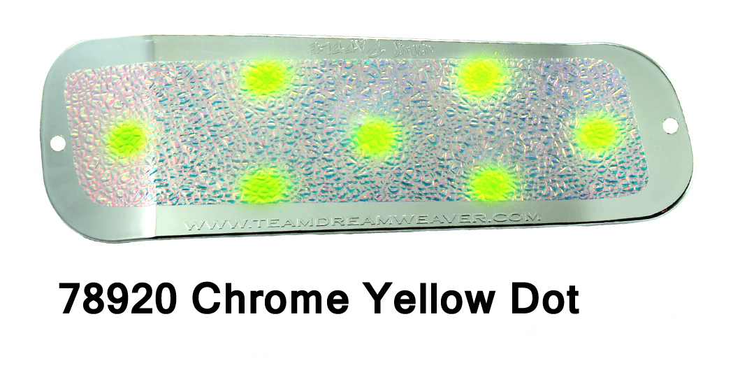 Paddle 11 – Chrome/UV Crush Yel