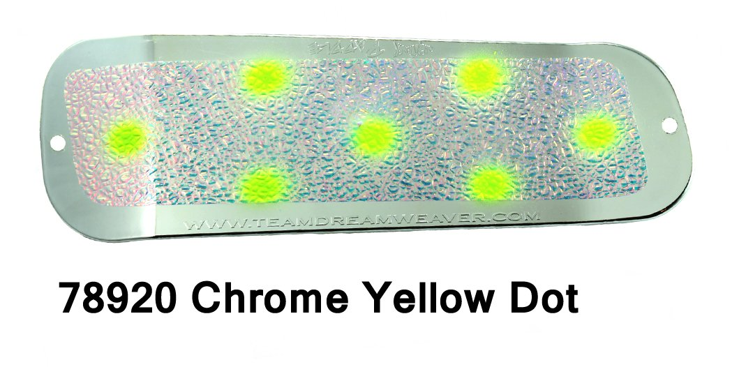 Paddle 8 – Chrome/UV Crush Yel