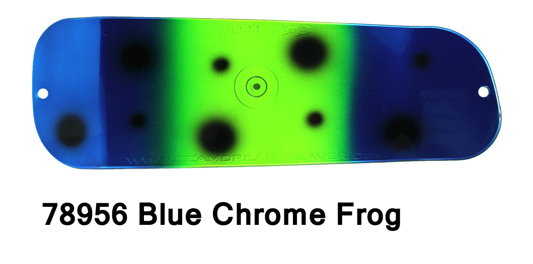 Paddle 8 – Blue Chrome Frog