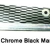 78994L-11 Paddle 11 Inch Chrome Black Mamba