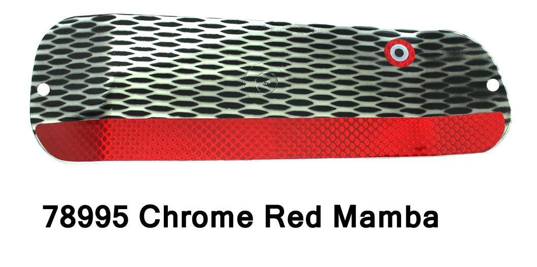DC Paddle 8 – Chrome Red Mamba