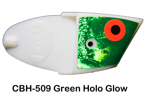 CBH509 Cutbait Head Green Glow 4