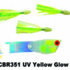CBR351 Cut Bait Rig UV Yellow Glow