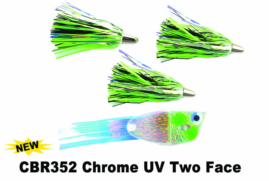 CBR352 Cut Bait Rig Chrome UV Tw
