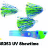 CBR353 Cut Bait Rig UV Showtime