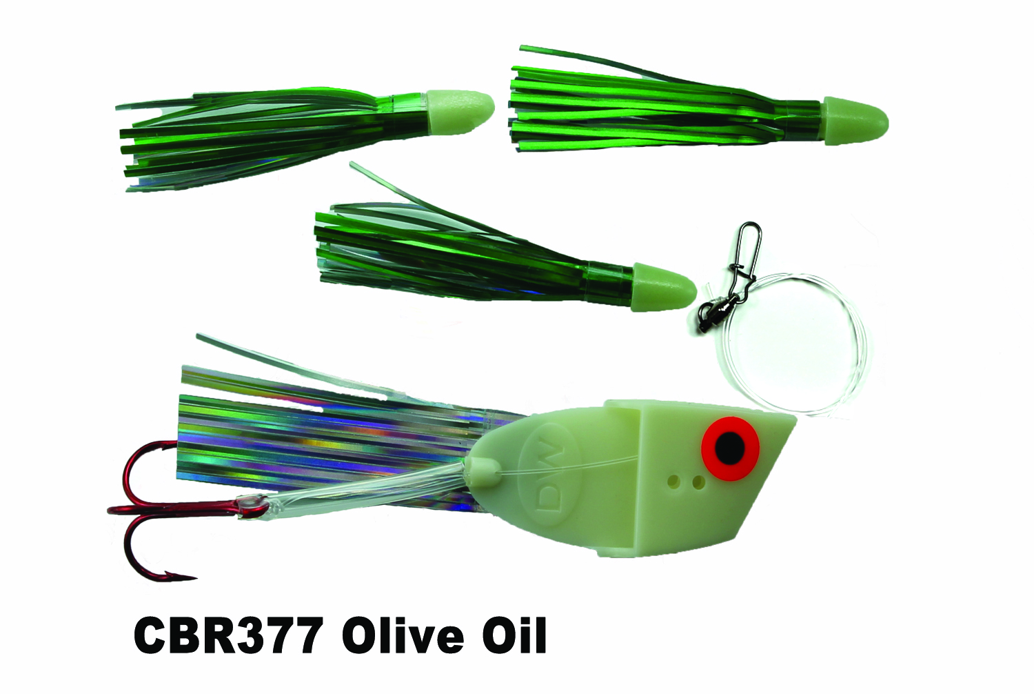 CBR377 Cut Bait Rig Olive Oil