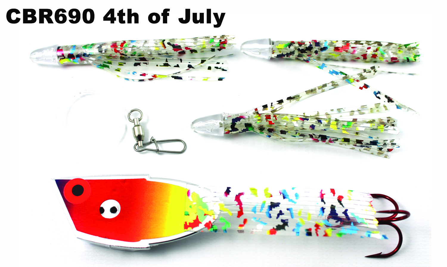 CBR690 Cut Bait Rig 4th of July