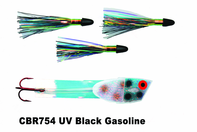 CBR754 Cut Bait Rig UV BK Gasoli
