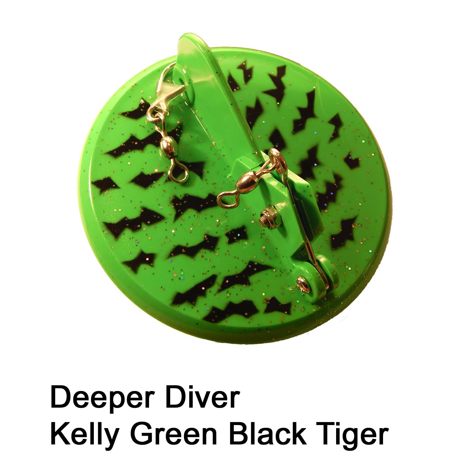 Deeper Diver 107mm Kelly Green B
