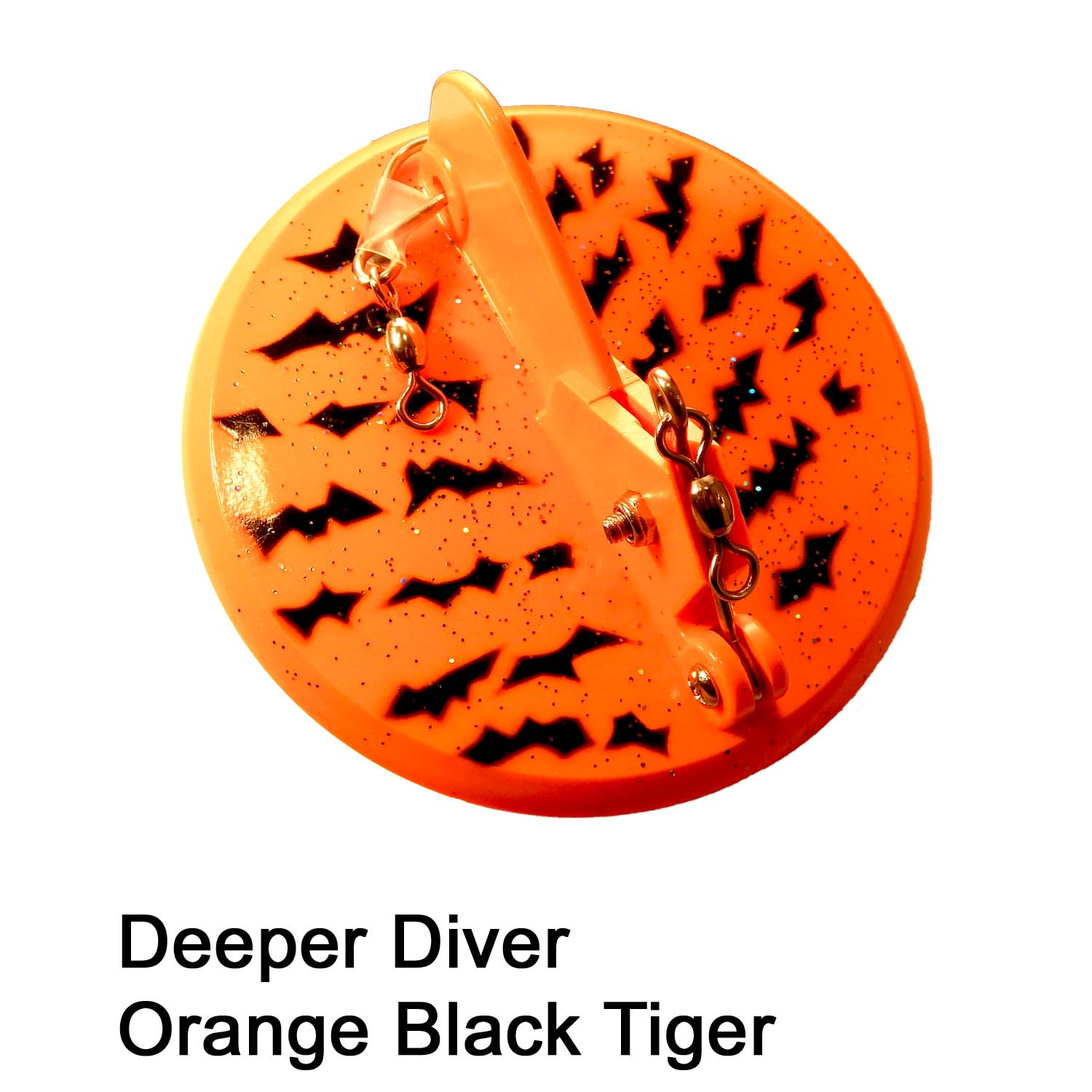 Deeper Diver 107mm Orange Black