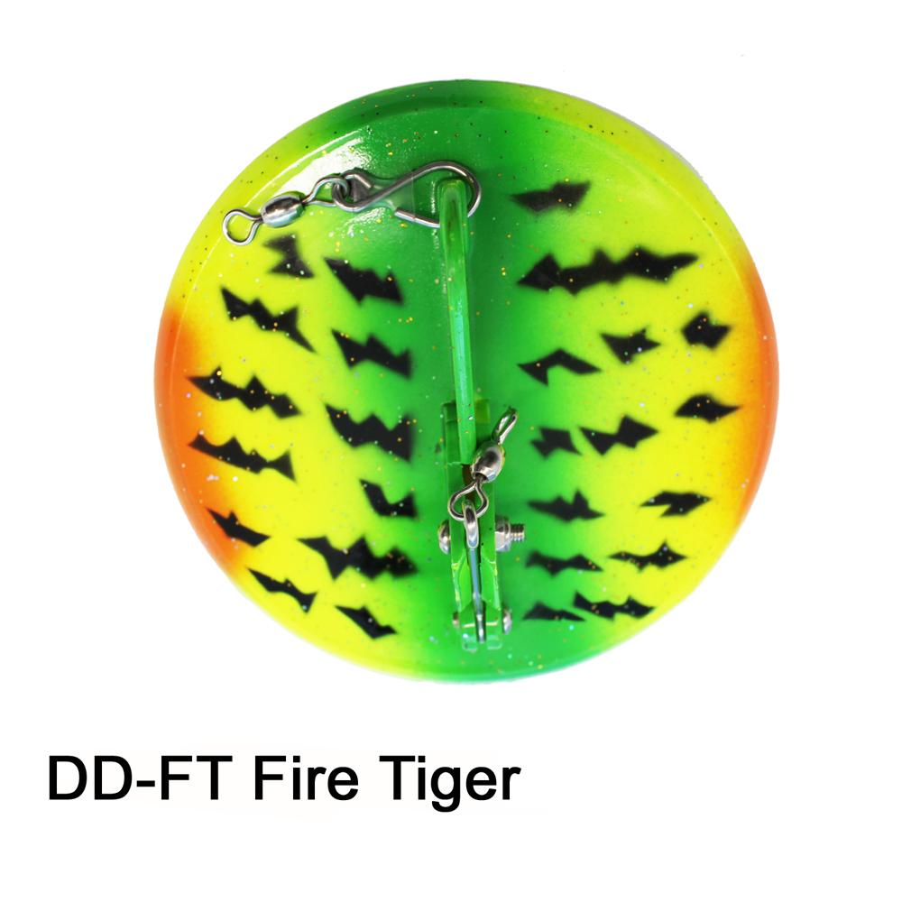 Deeper Diver 124mm Fire Tiger
