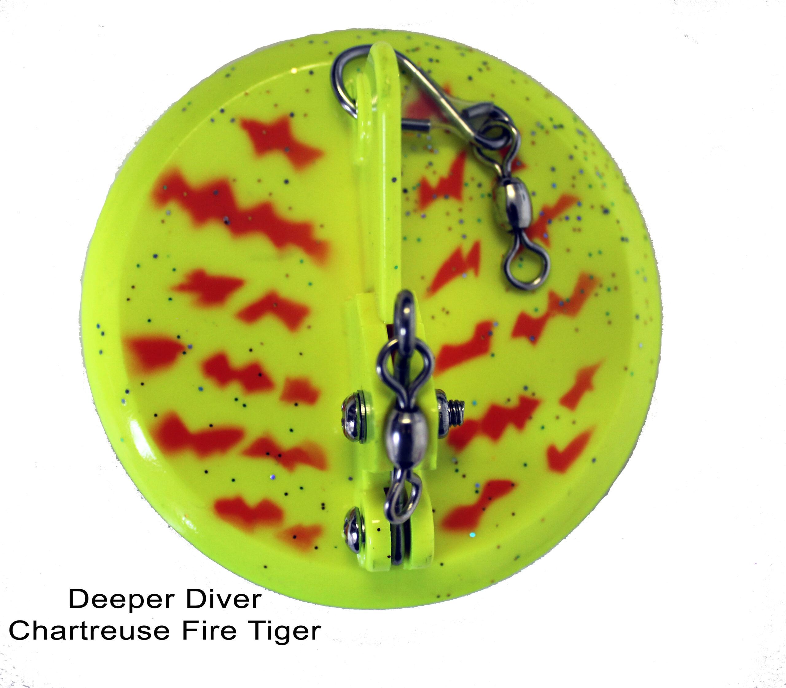 DC Deeper Diver 82mm Chartreuse