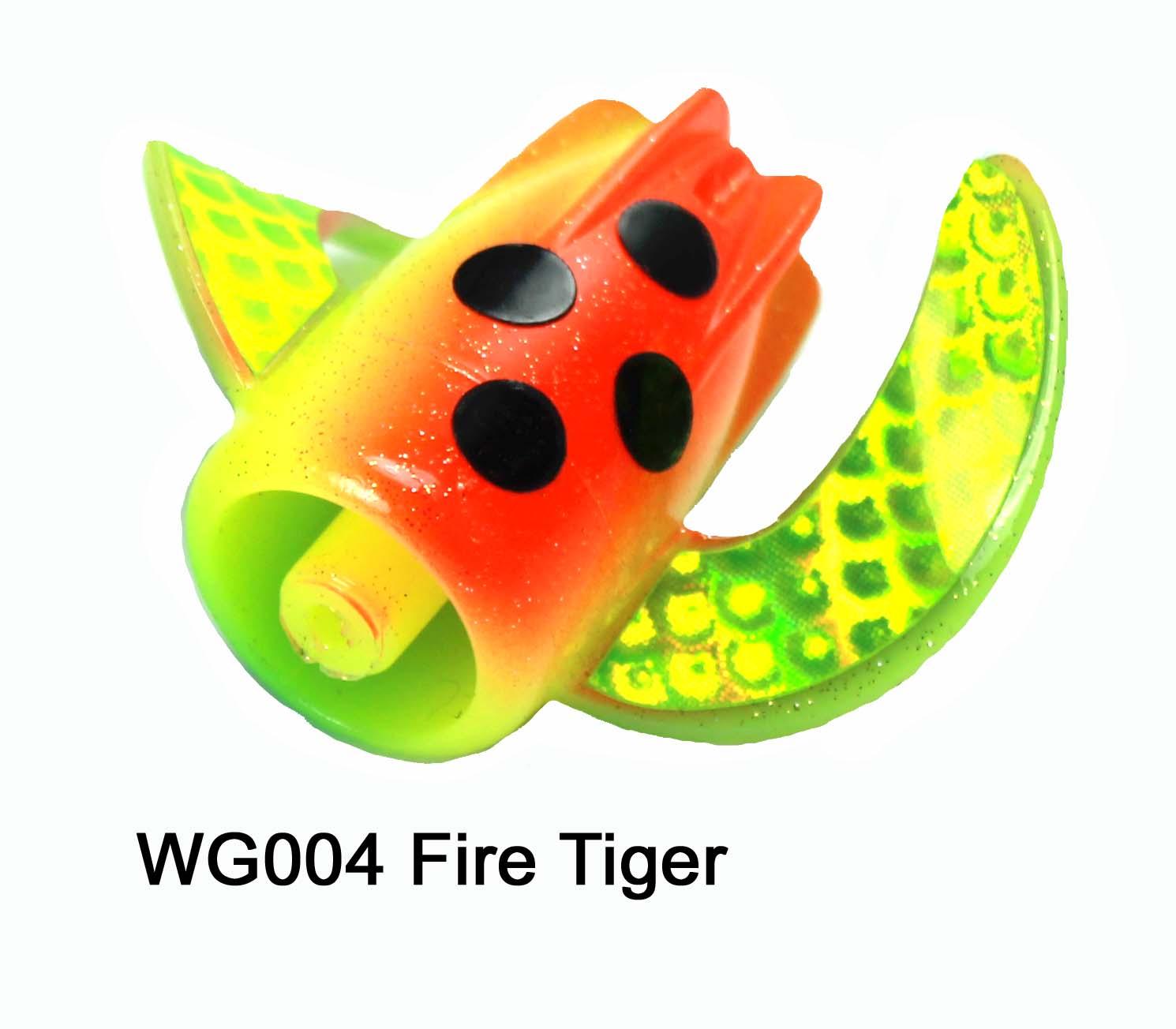 WG004 WhirlyGig Fire Tiger
