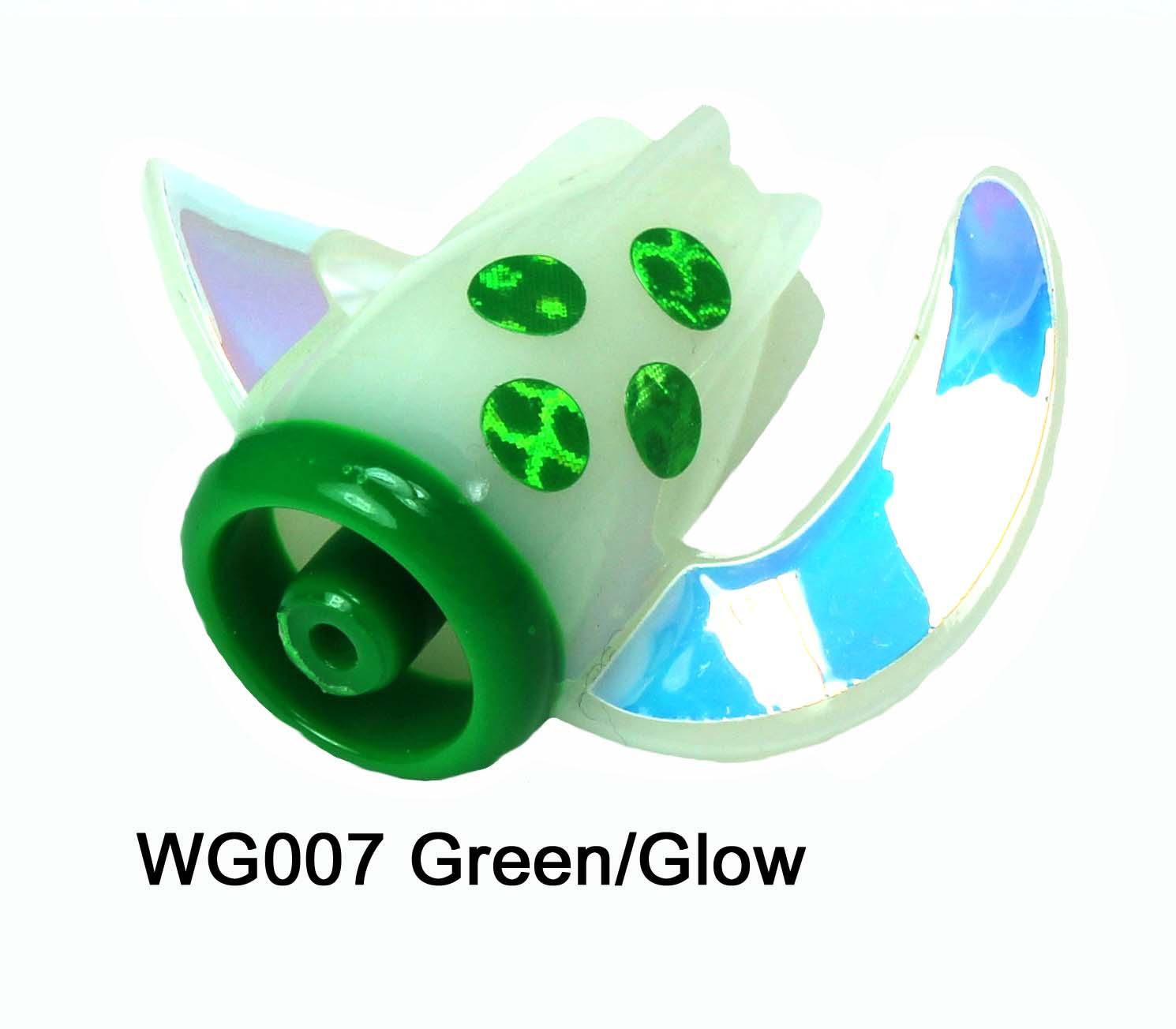 WG007 WhirlyGig Green/Glow