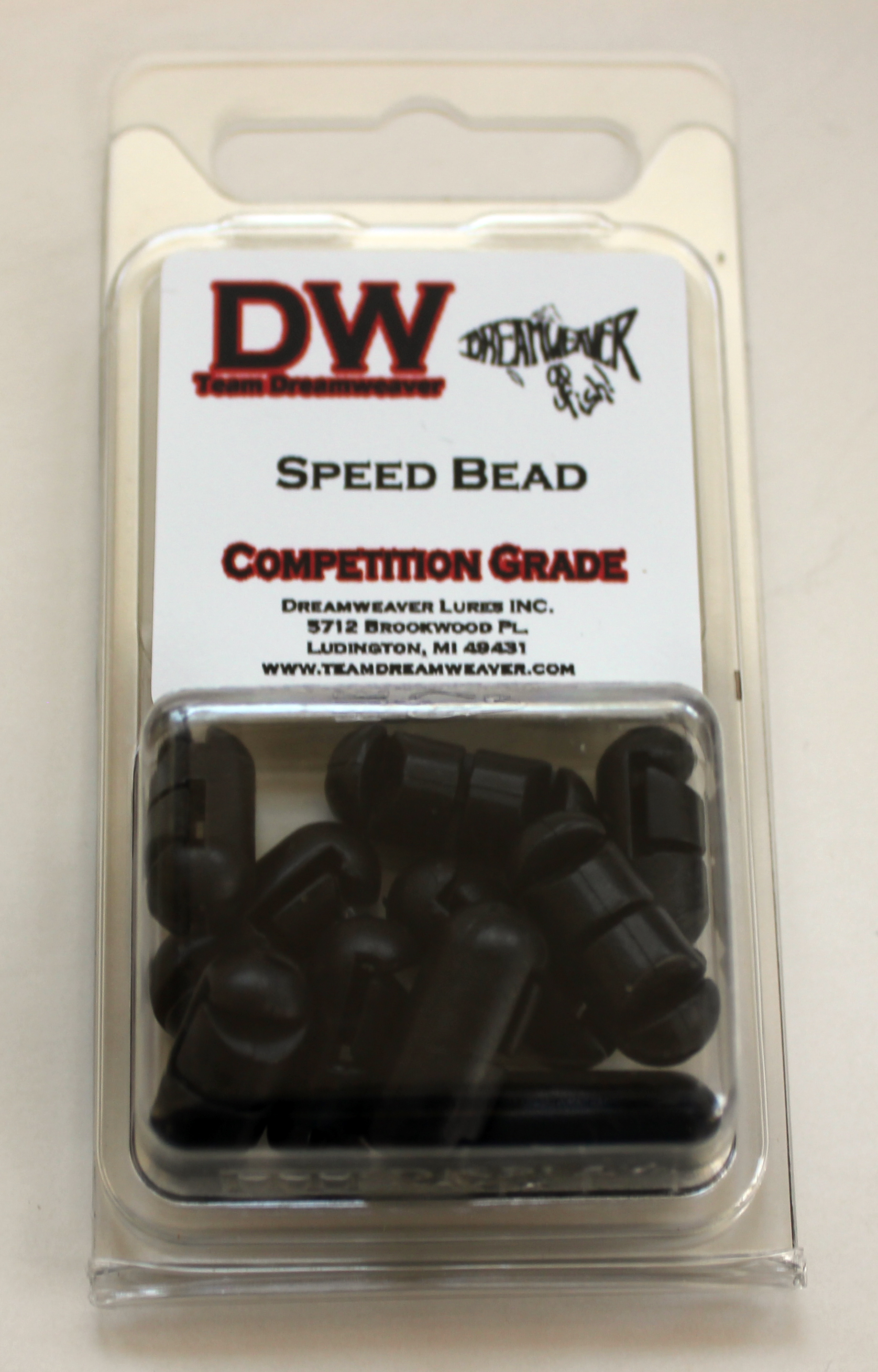 10 Pack Speed Bead Black