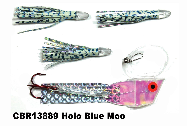 DC CBR889 Cut Bait Rig Holo Blue Moo