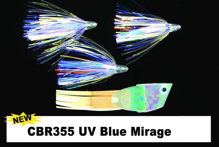CBR355 Cut Bait Rig UV Blue Mira