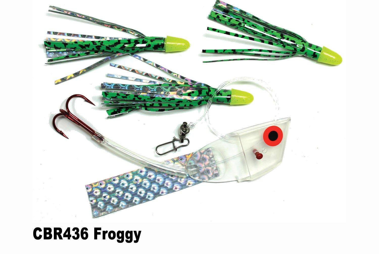 CBR436 Cut Bait Rig Froggy