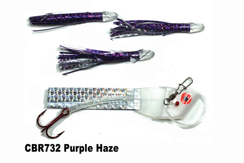 DC CBR732 Cut Bait Rig Purple Ha