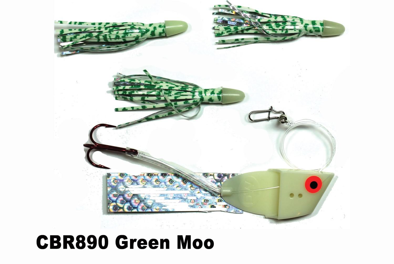 CBR890 Cut Bait Rig Green Moo