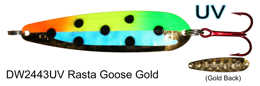 DW 2443 UV Rasta Goose (Gold)