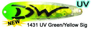 DW MAG M1431 UV Green/Yellow Sig