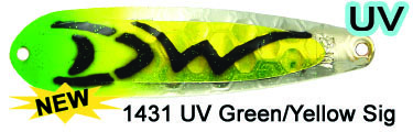 SS 1431 UV Green/Yellow Signatur