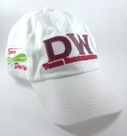 White DW Hat