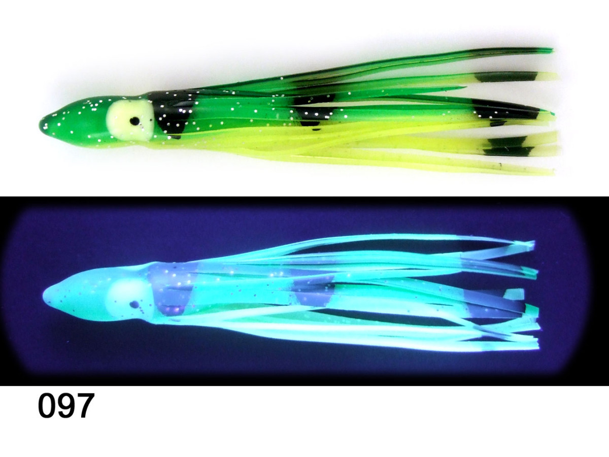 62097 Squid Glow Frog Unrigged (2 pack)