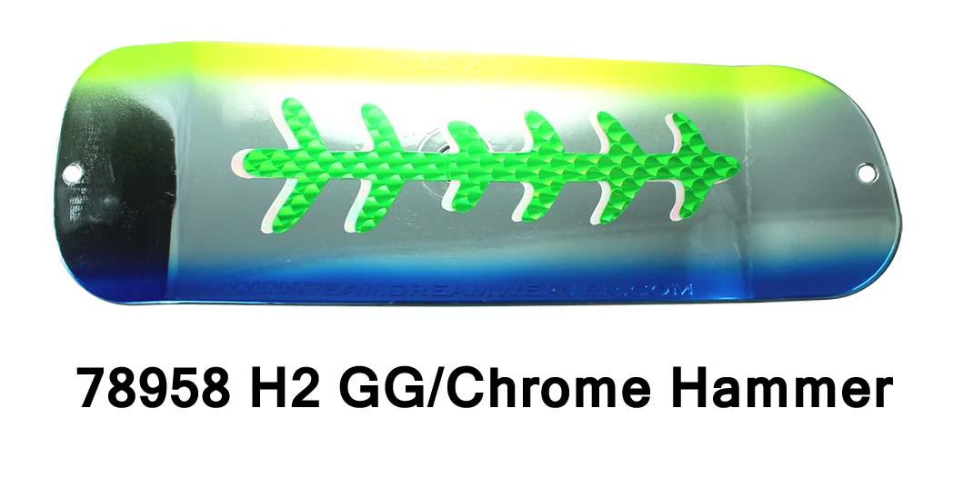 78958L-11 Chrome Hammer