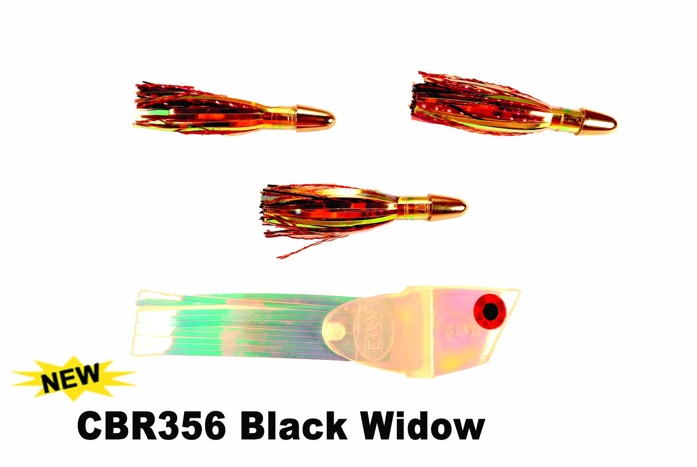 CBR356 Cut Bait Rig UV Black Wid