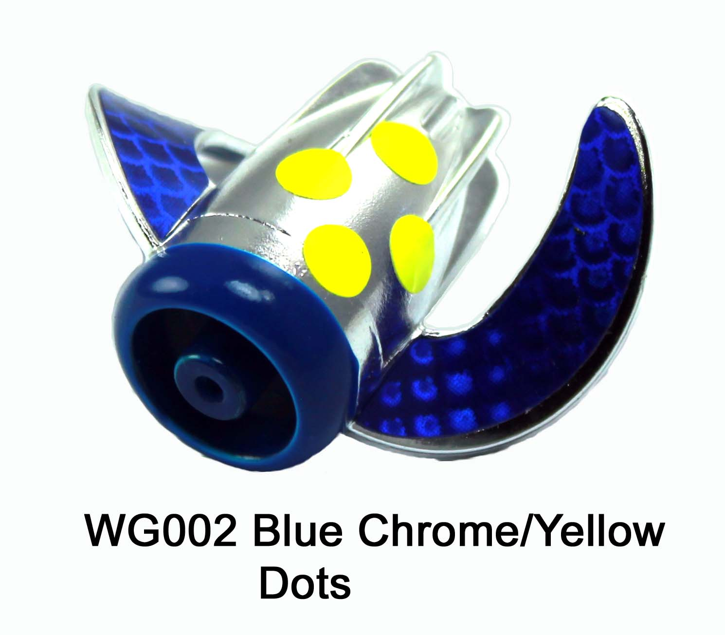 WG002 WhirlyGig Blue Chrome/Yell
